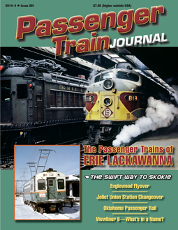 Passenger Train Journal